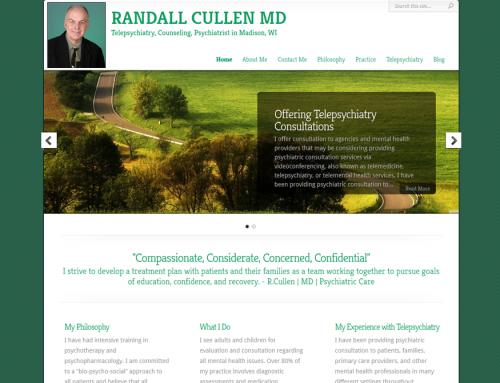New Website Launch – Randall Cullen MD